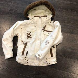 Obermeyer girls jacket size junior 8
